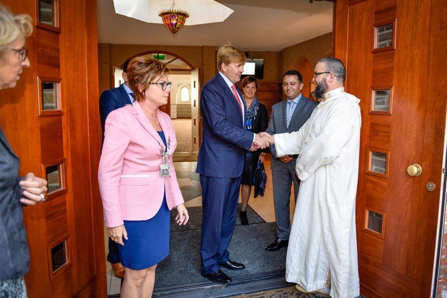 Le roi Willem-Alexander des Pays-Bas à Panningen, le 10 septembre 2015