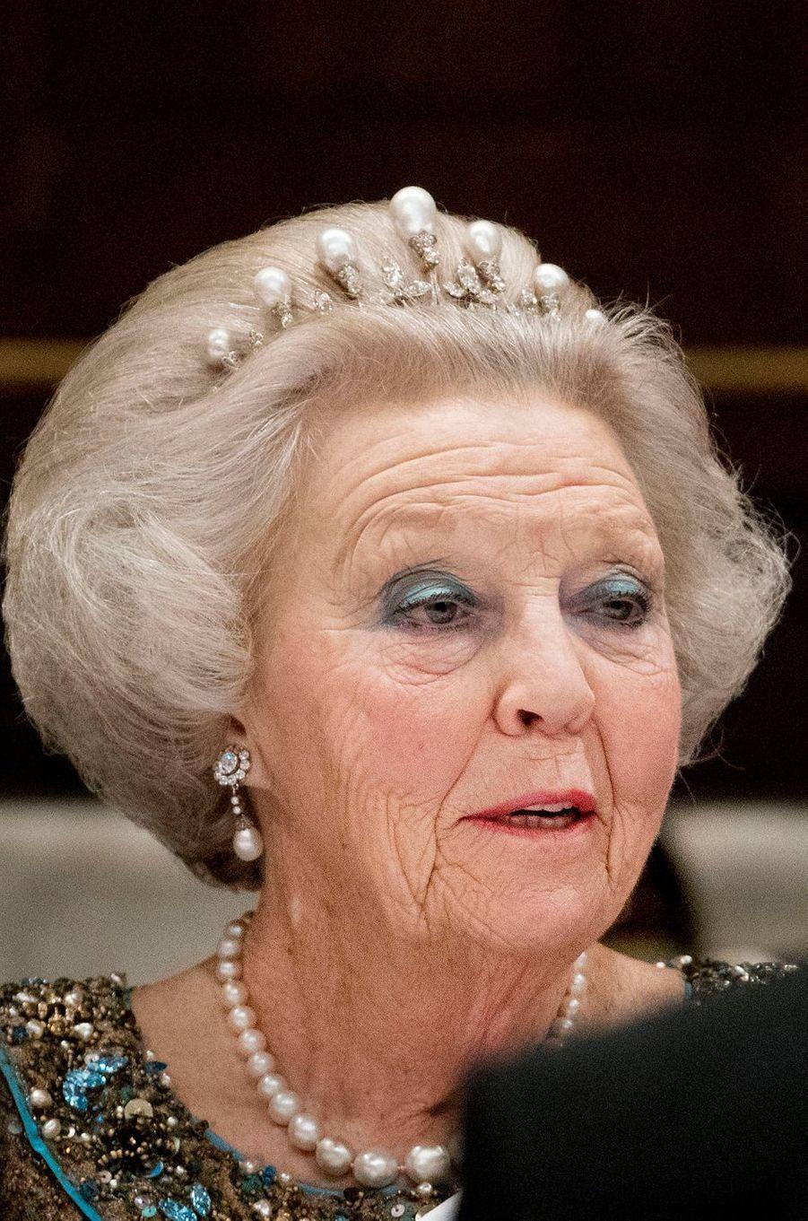 La princesse Beatrix des Pays-Bas à Amsterdam, le 27 mars 2017