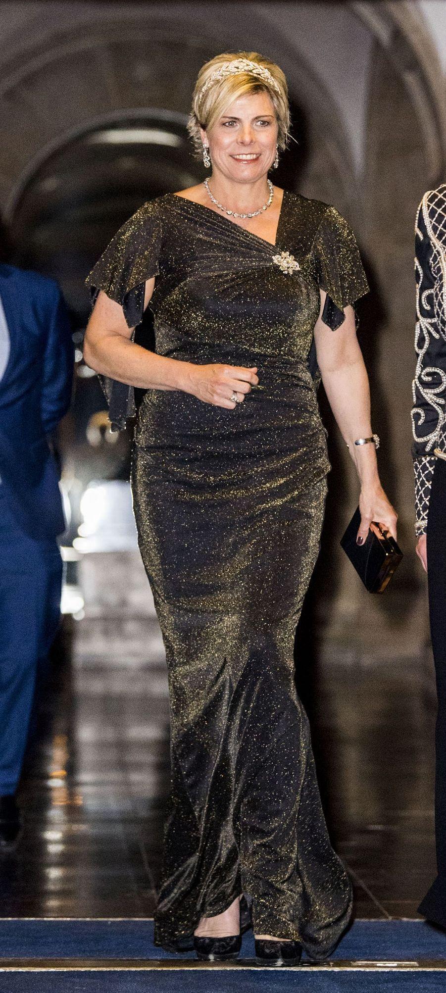 La princesse Laurentien des Pays-Bas à Amsterdam, le 27 mars 2017