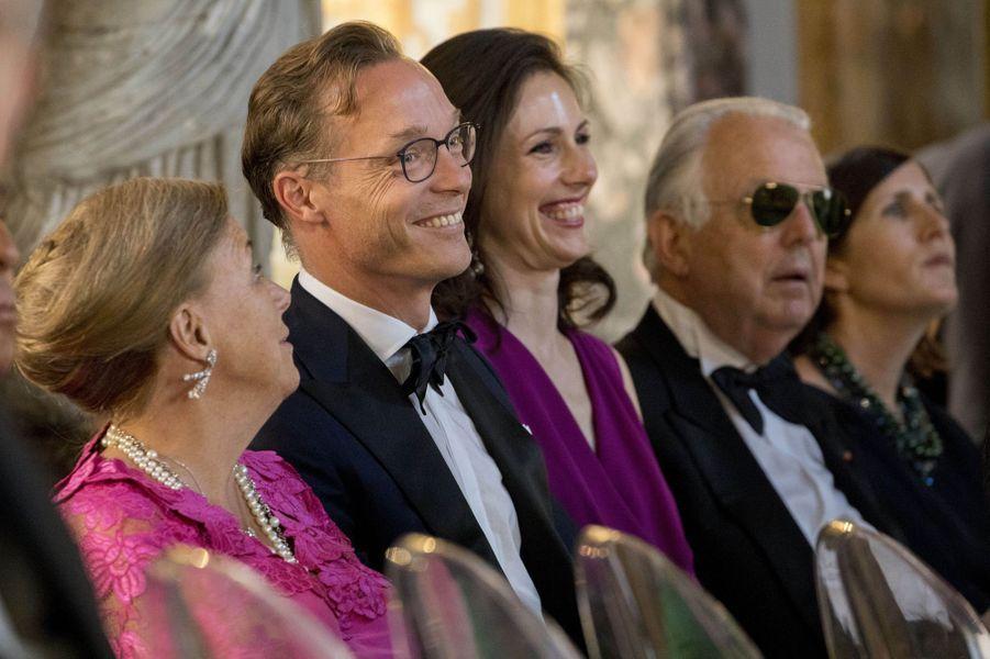 Le prince Jaime de Bourbon et la princesse Viktoria de Parme à Rome, le 21 juin 2017
