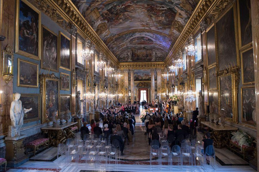 Le concert offert par le roi et la reine des Pays-Bas à Rome, le 21 juin 2017