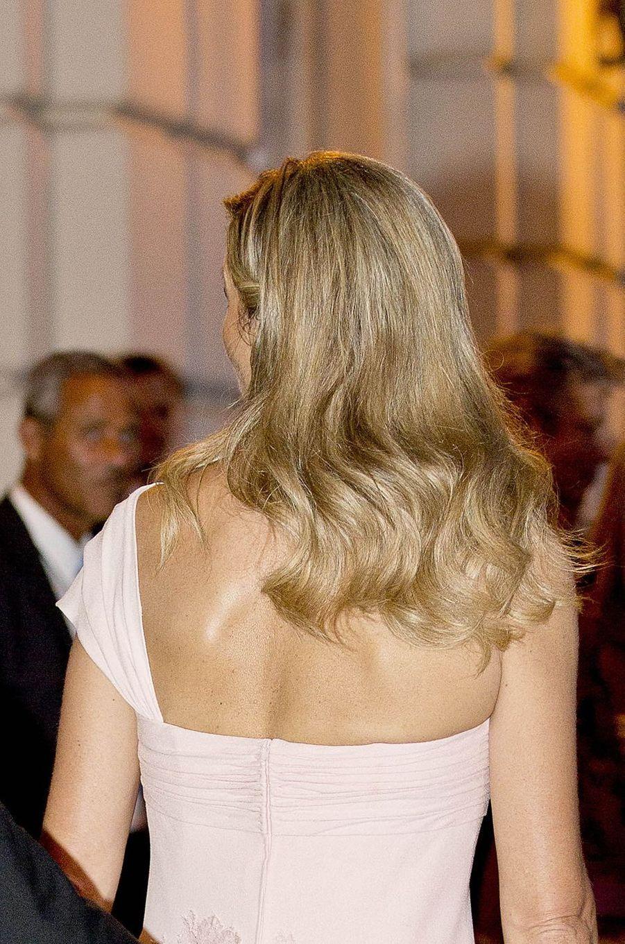 La reine Maxima des Pays-Bas à Rome, le 21 juin 2017
