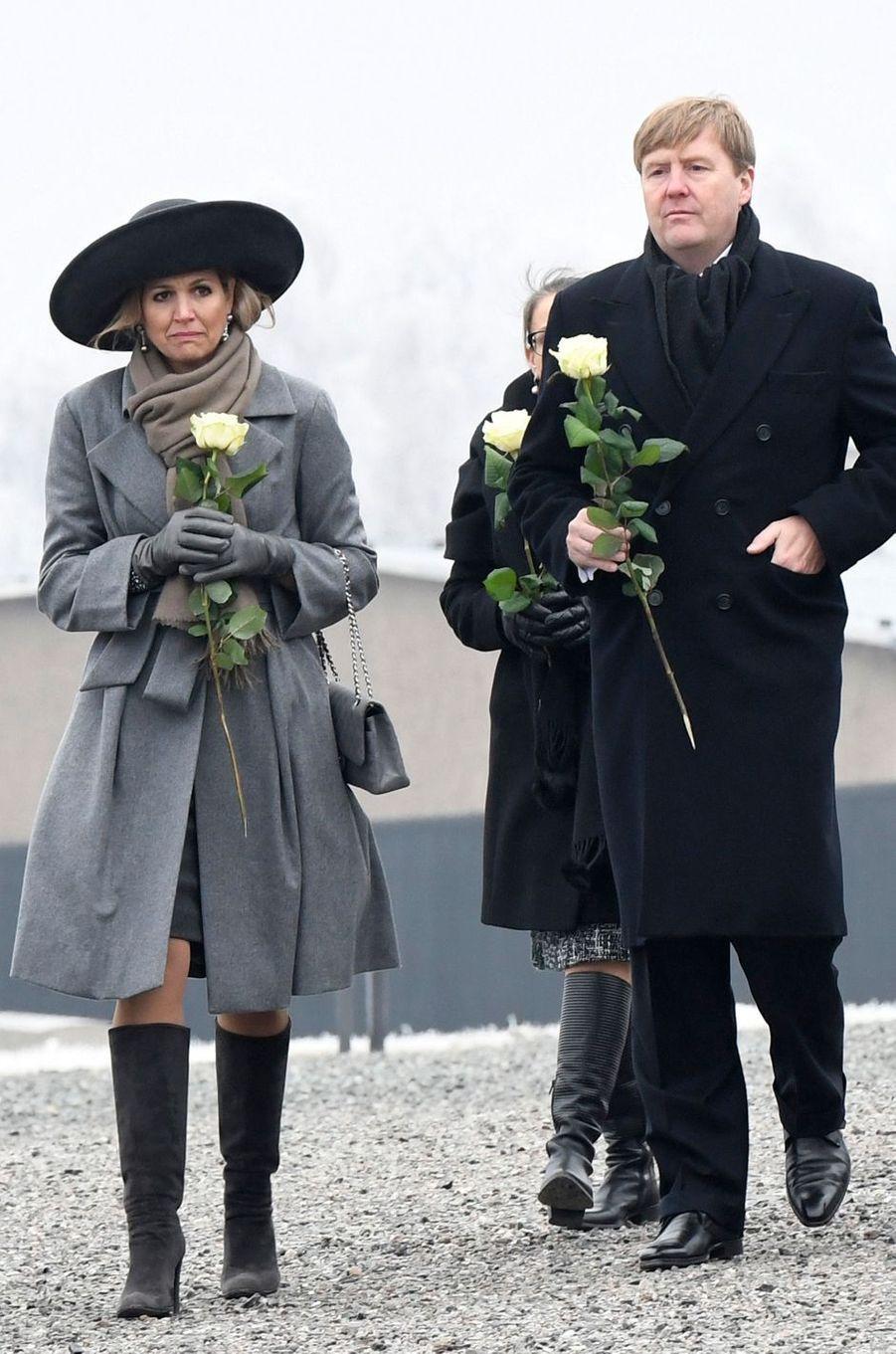 La reine Maxima des Pays-Bas en Allemagne le 8 février 2017