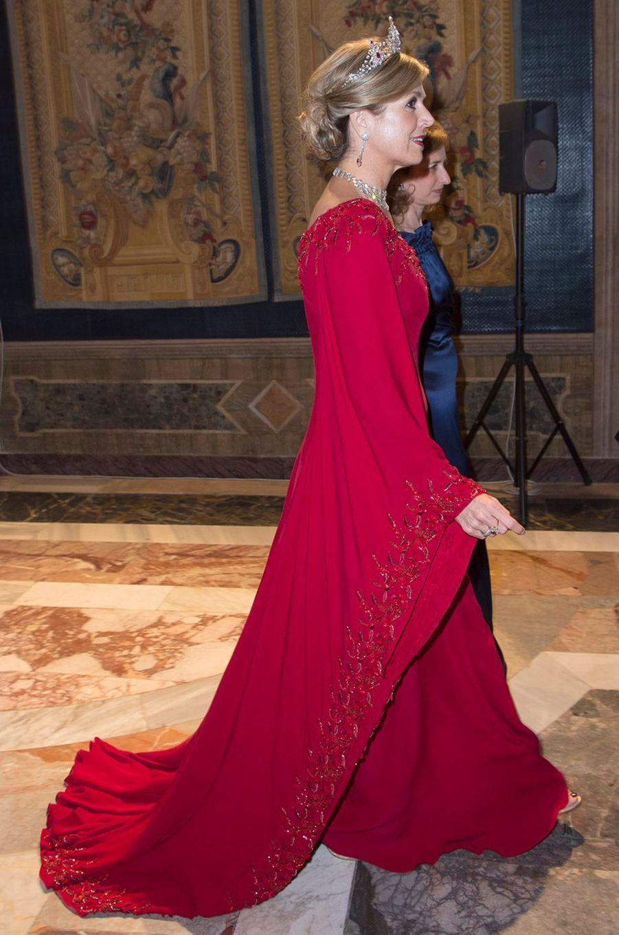 La reine Maxima des Pays-Bas à Rome, le 20 juin 2017