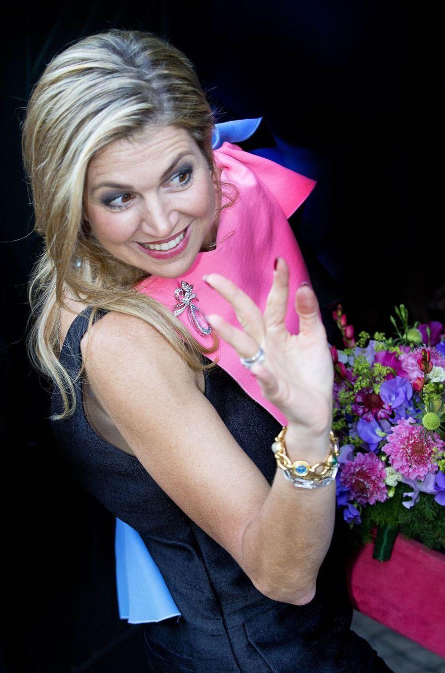 La reine Maxima des Pays-Bas à Amsterdam, le 3 juin 2017