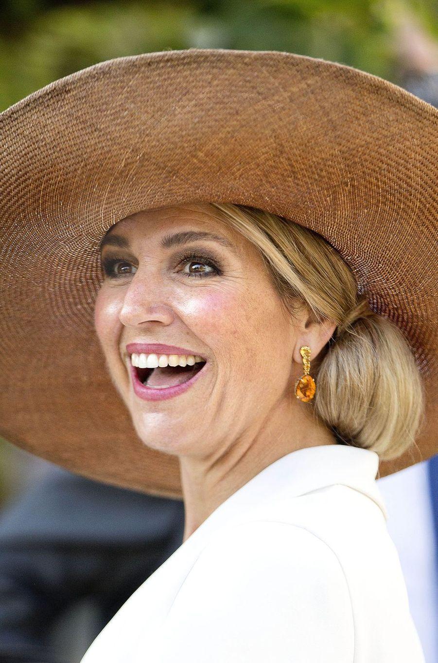 La reine Maxima des Pays-Bas à Amsterdam, le 14 septembre 2016