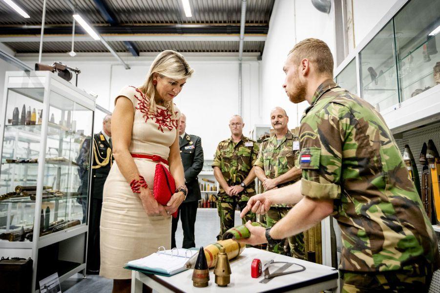 La reine Maxima des Pays-Bas à Soesterberg, le 13 septembre 2016