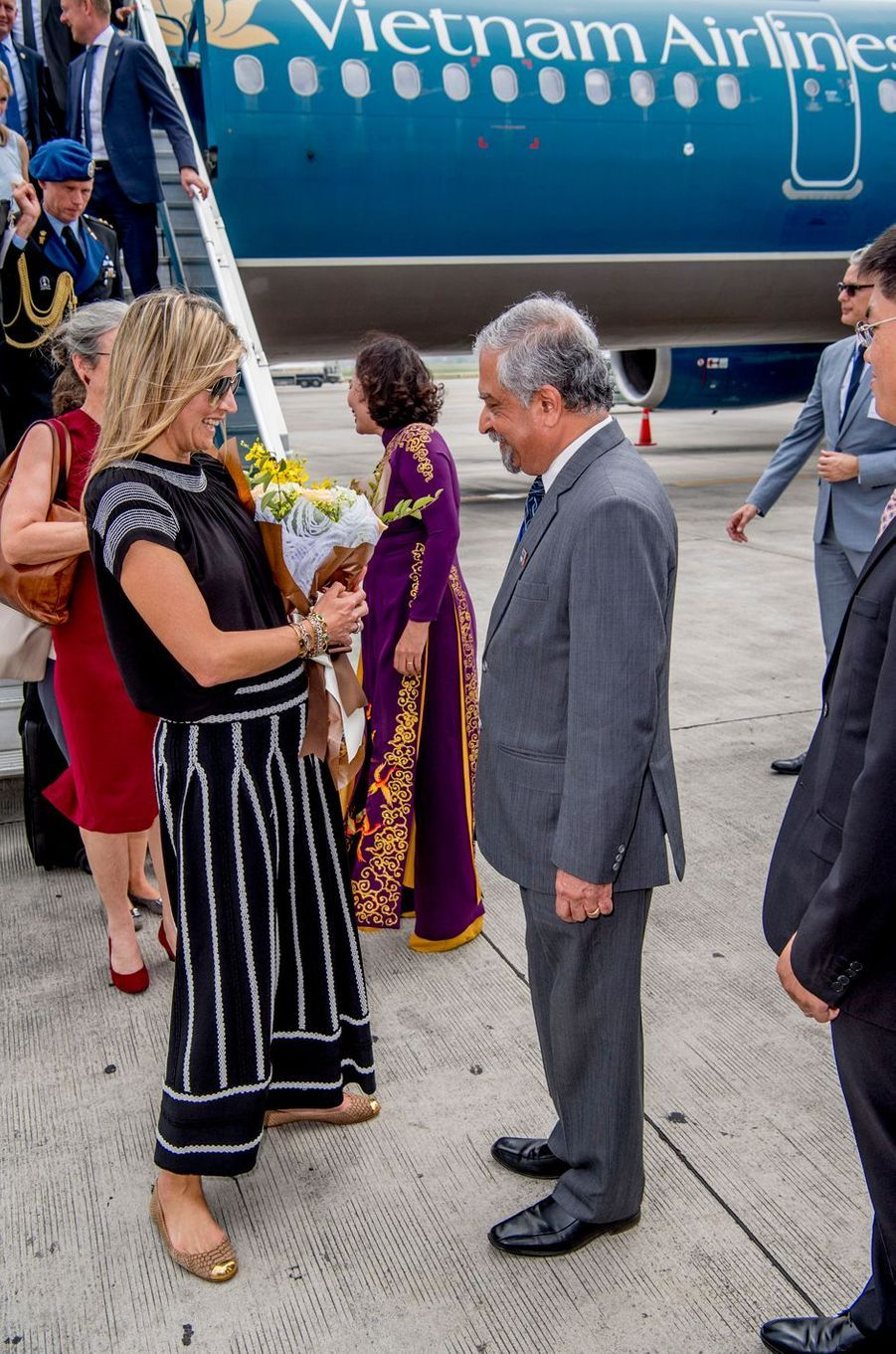 La reine Maxima des Pays-Bas à Hanoï, le 31 mai 2017