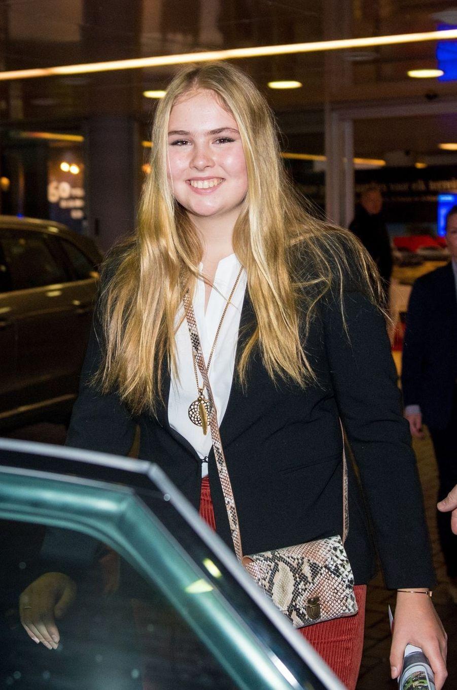 La princesse Catharina-Amalia des Pays-Bas à Amsterdam, le 27 janvier 2019