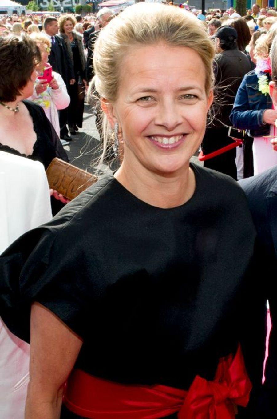 La princesse Mabel des Pays-Bas à Amsterdam, le 30 mai 2015
