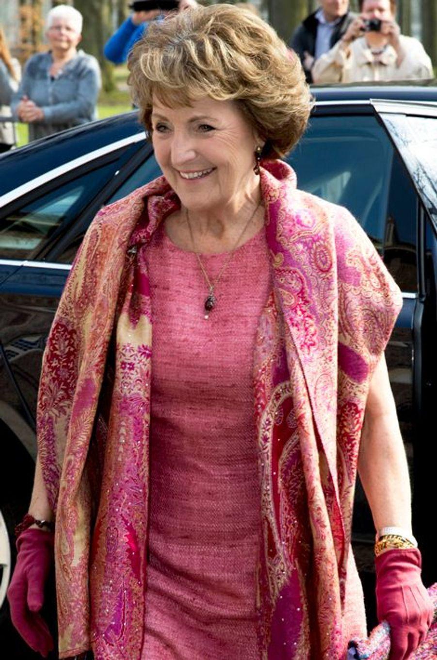 La princesse Margriet des Pays-Bas à Apeldoorn, le 9 avril 2015