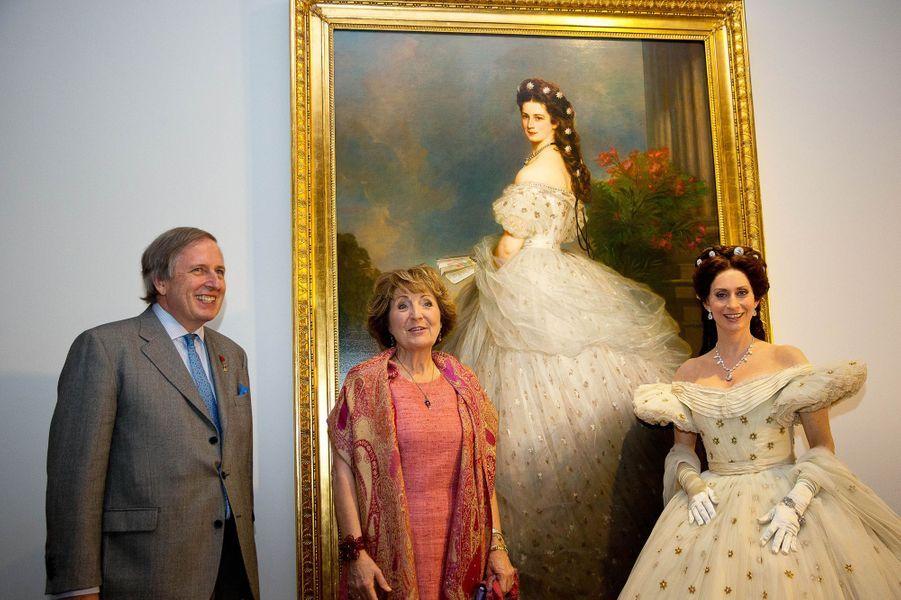 La princesse Margriet des Pays-Bas et l'archiduc Michael von Habsburg-Lothringen à Apeldoorn, le 9 avril 2015