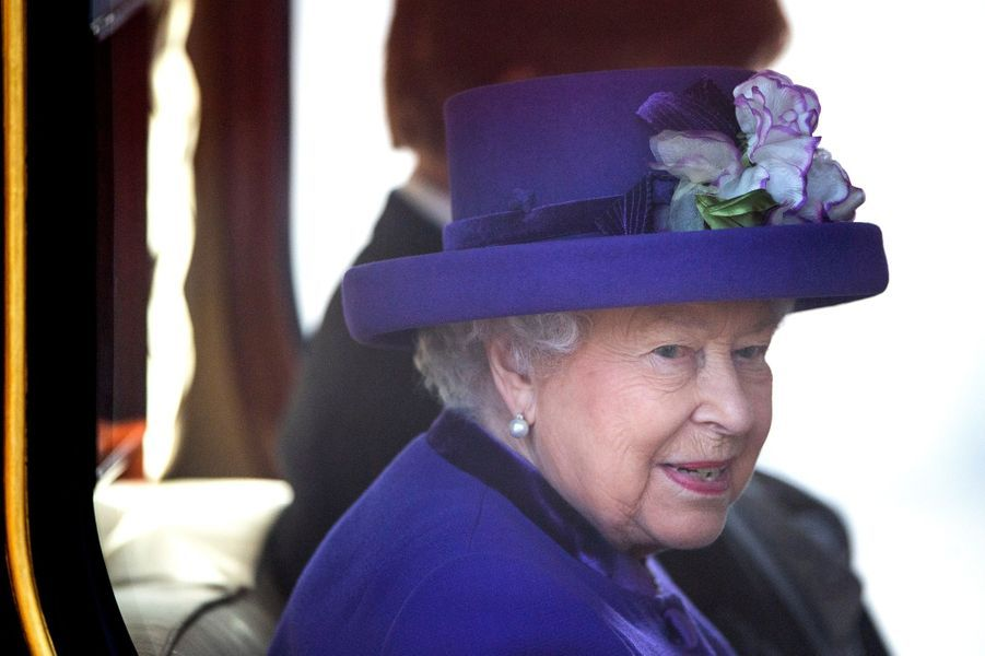 La reine Elizabeth II à Londres, le 23 octobre 2018