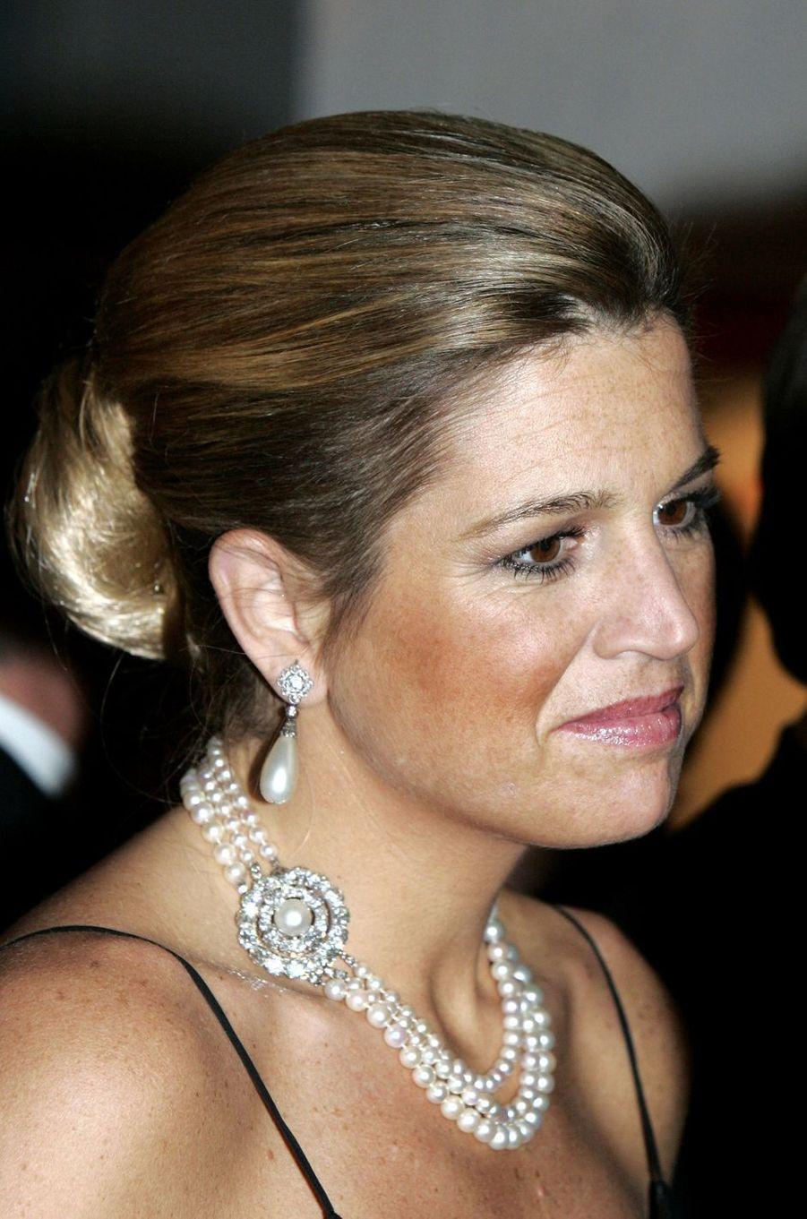 La princesse Maxima des Pays-Bas, le 3 janvier 2006