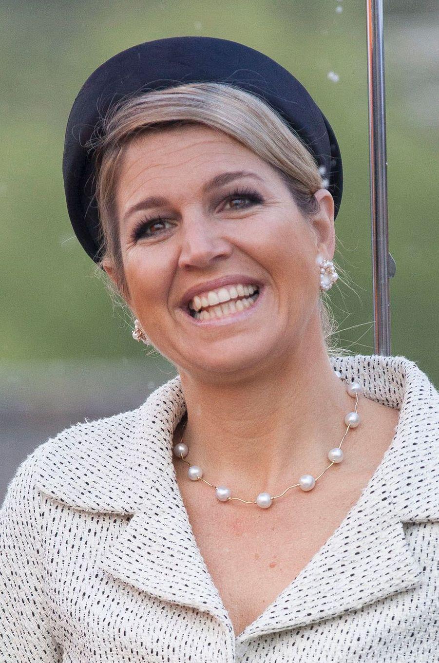 La reine Maxima des Pays-Bas, le 29 mai 2013