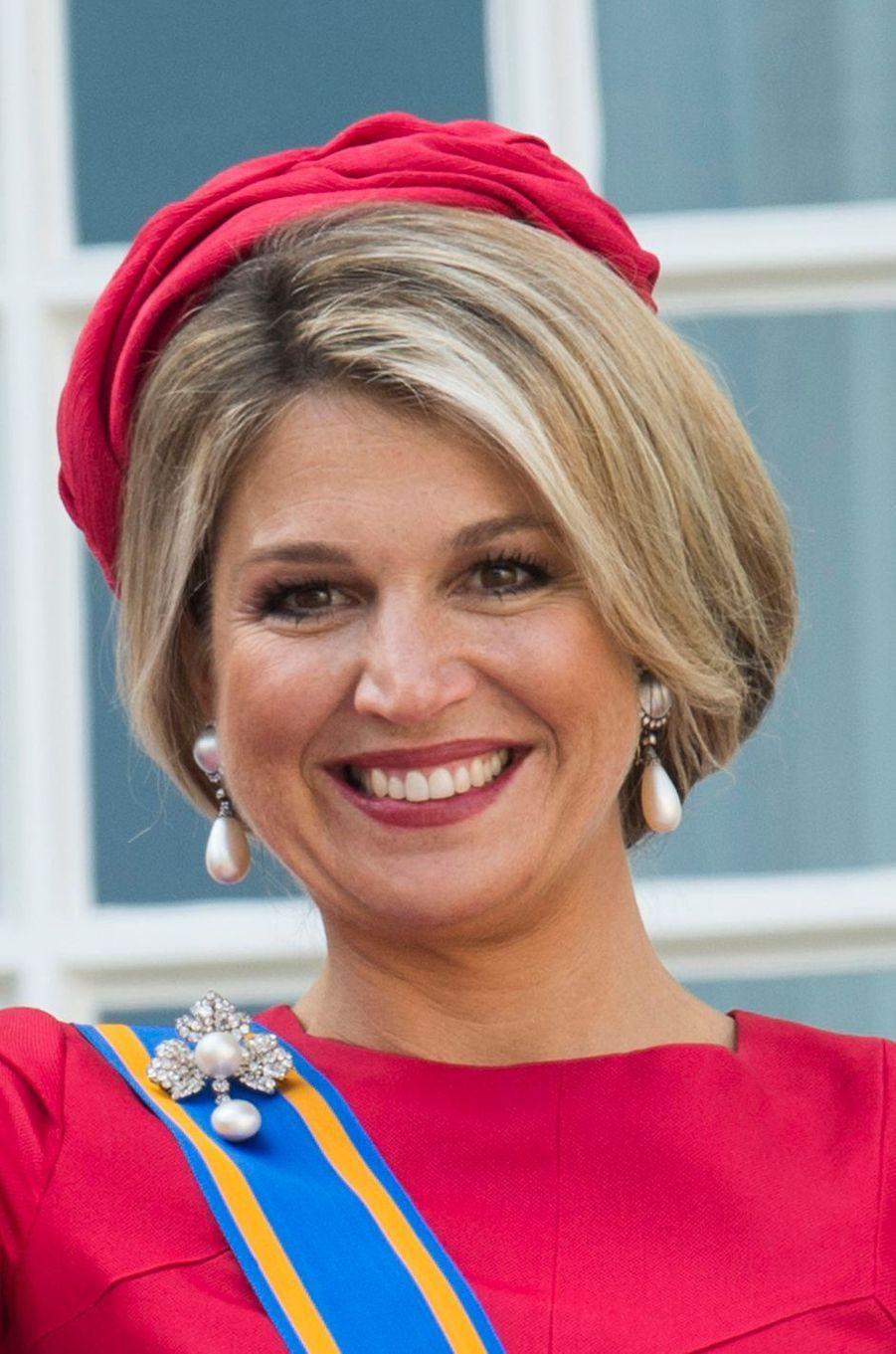 La reine Maxima des Pays-Bas, le 16 septembre 2014