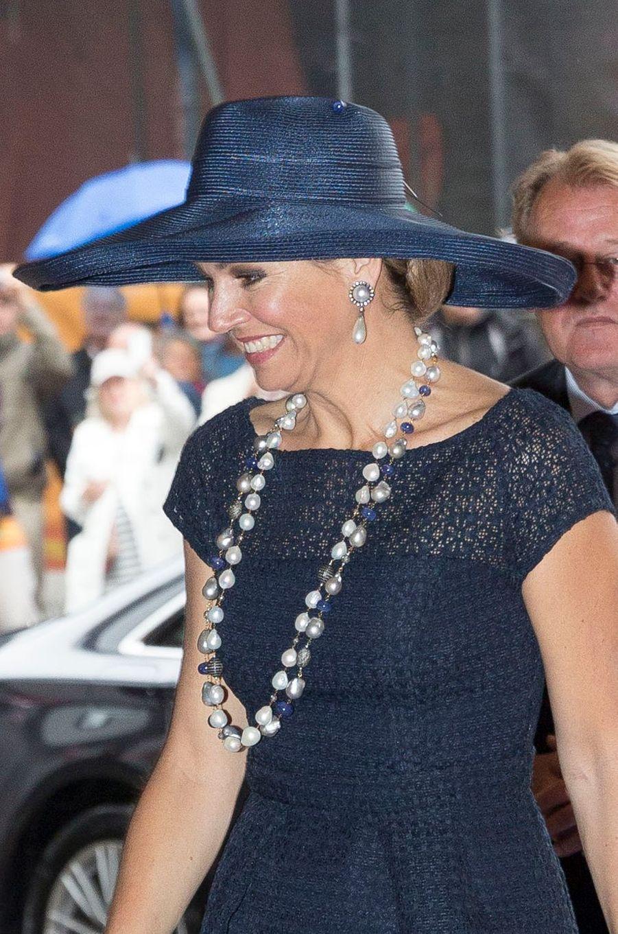 La reine Maxima des Pays-Bas, le 20 mai 2016