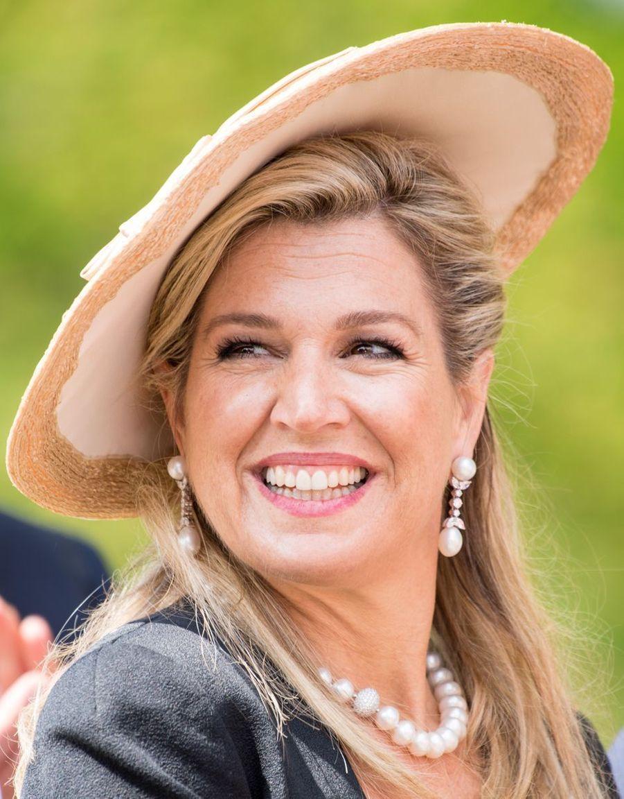 La reine Maxima des Pays-Bas, le 21 mai 2019