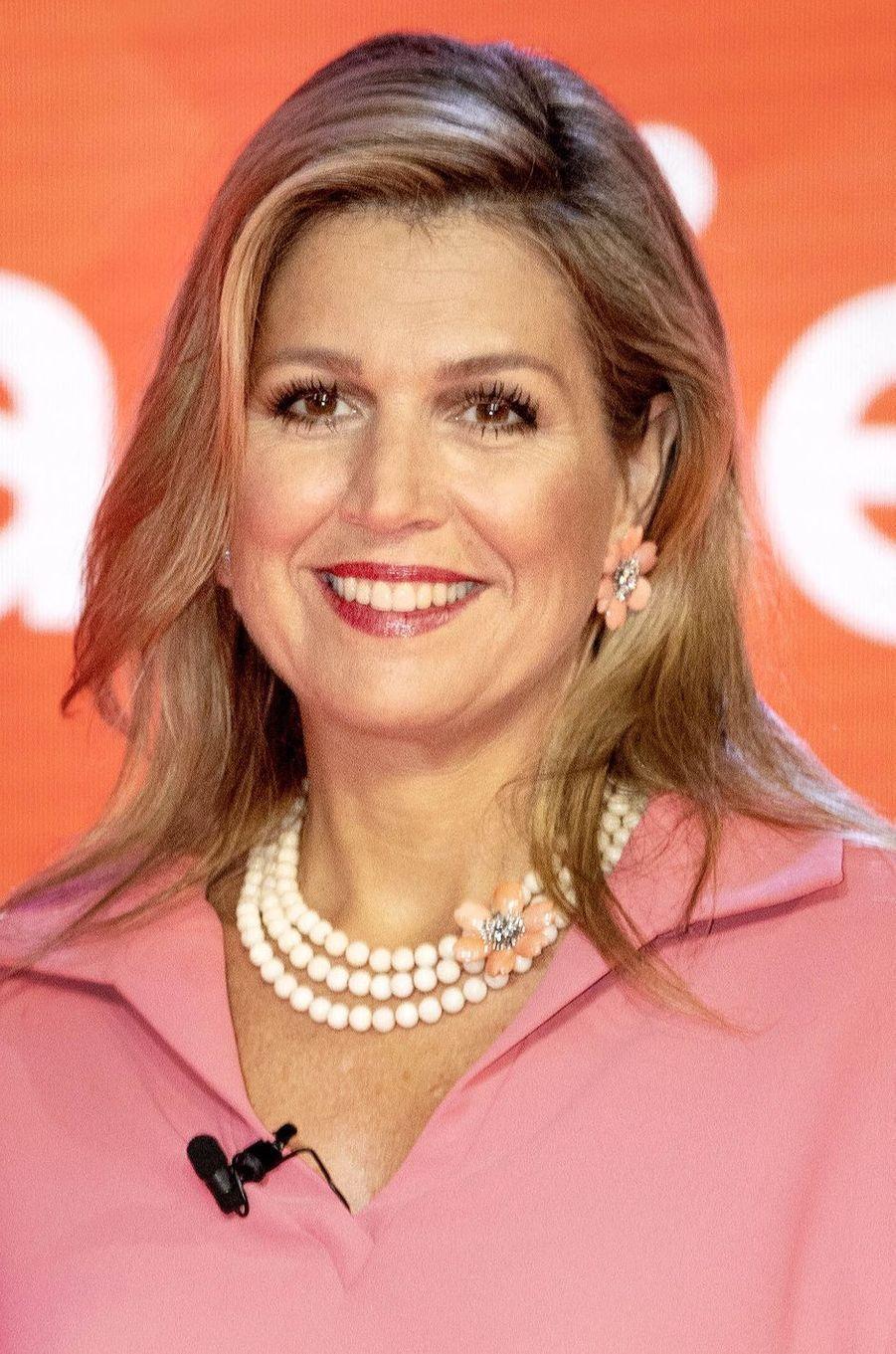 La reine Maxima des Pays-Bas, le 9 juillet 2020