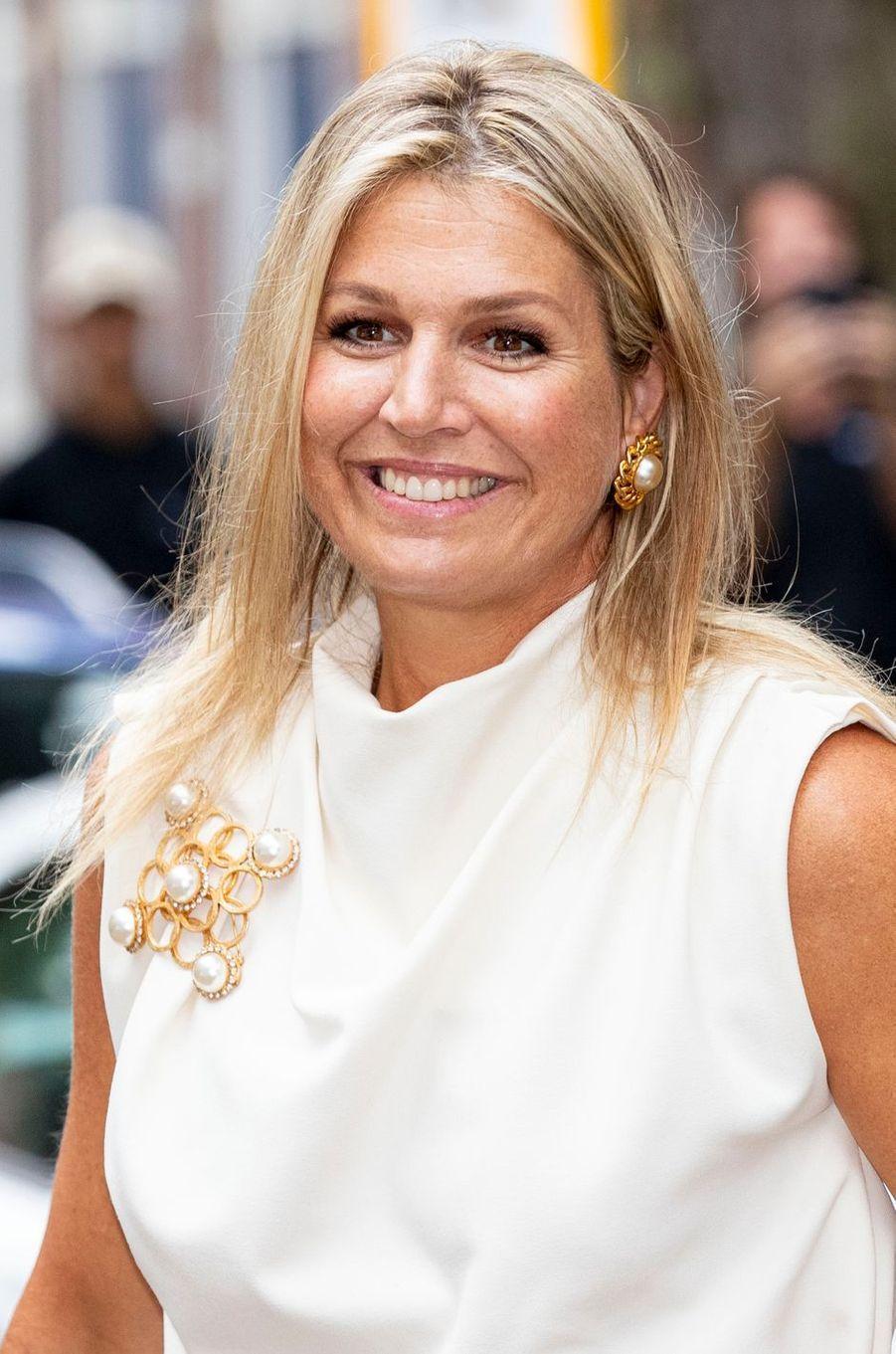 La reine Maxima des Pays-Bas, le 3 septembre 2020