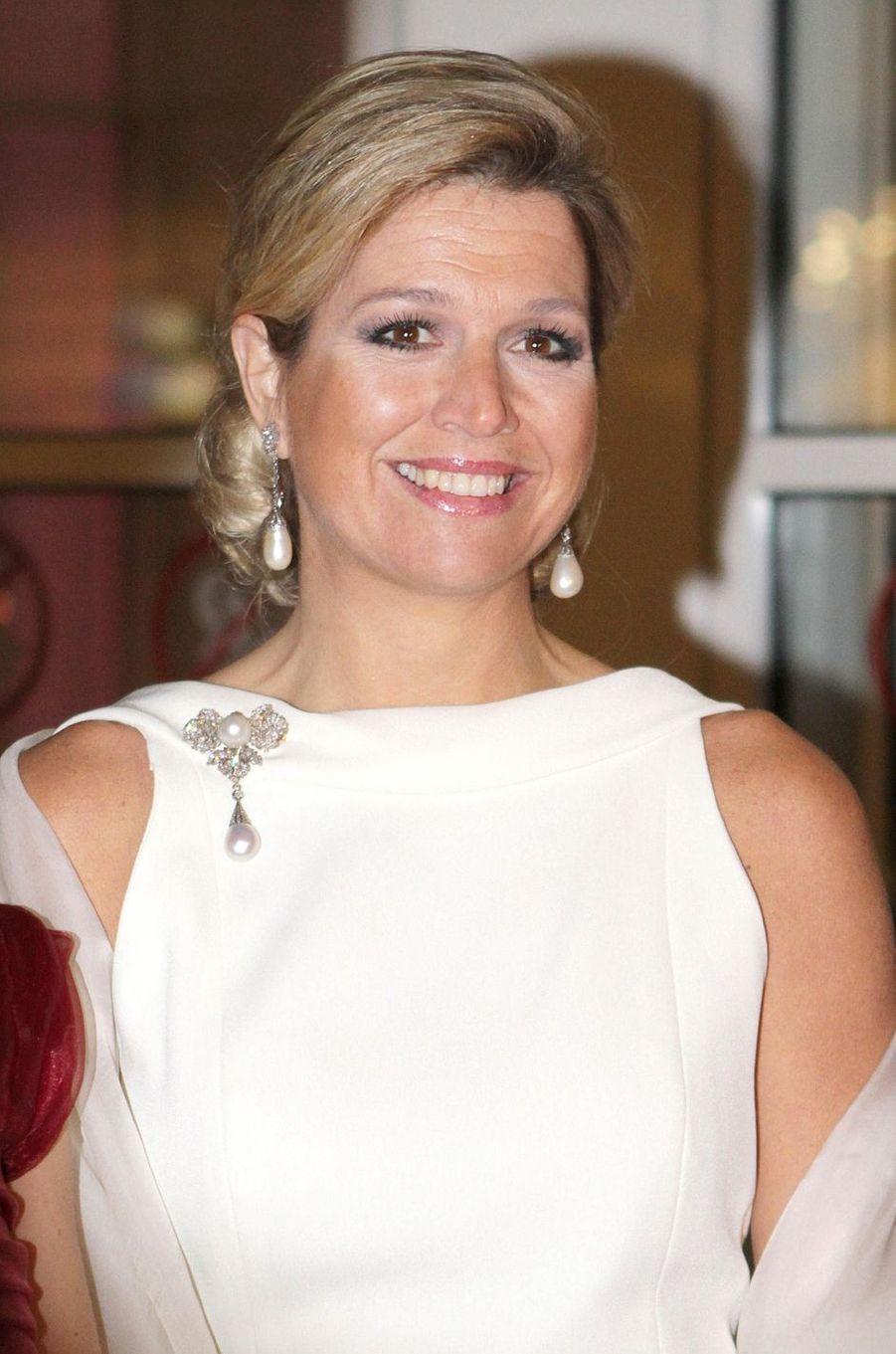 La princesse Maxima des Pays-Bas, le 23 janvier 2012