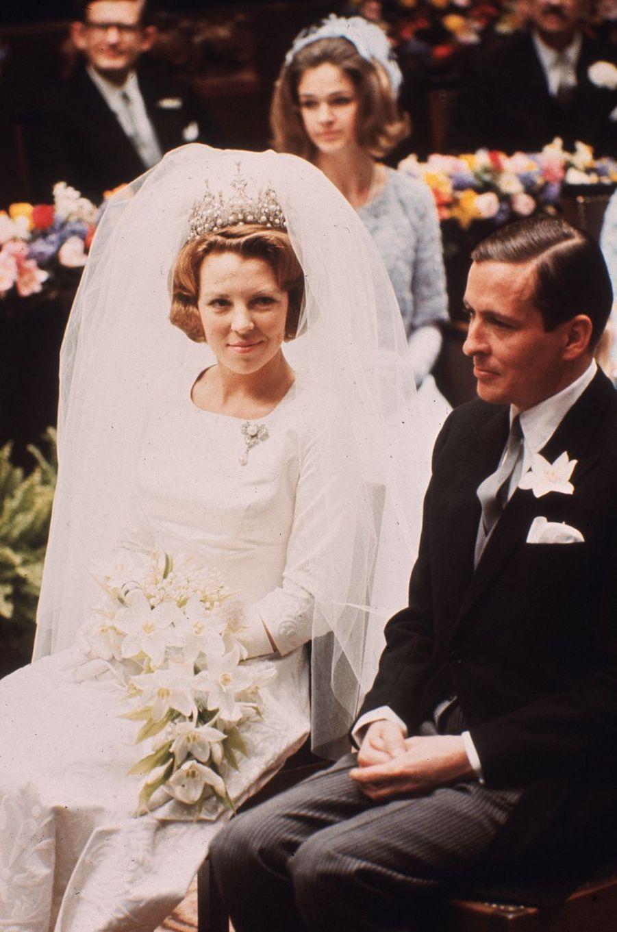 La princesse Beatrix des Pays-Bas le 10 mars 1966