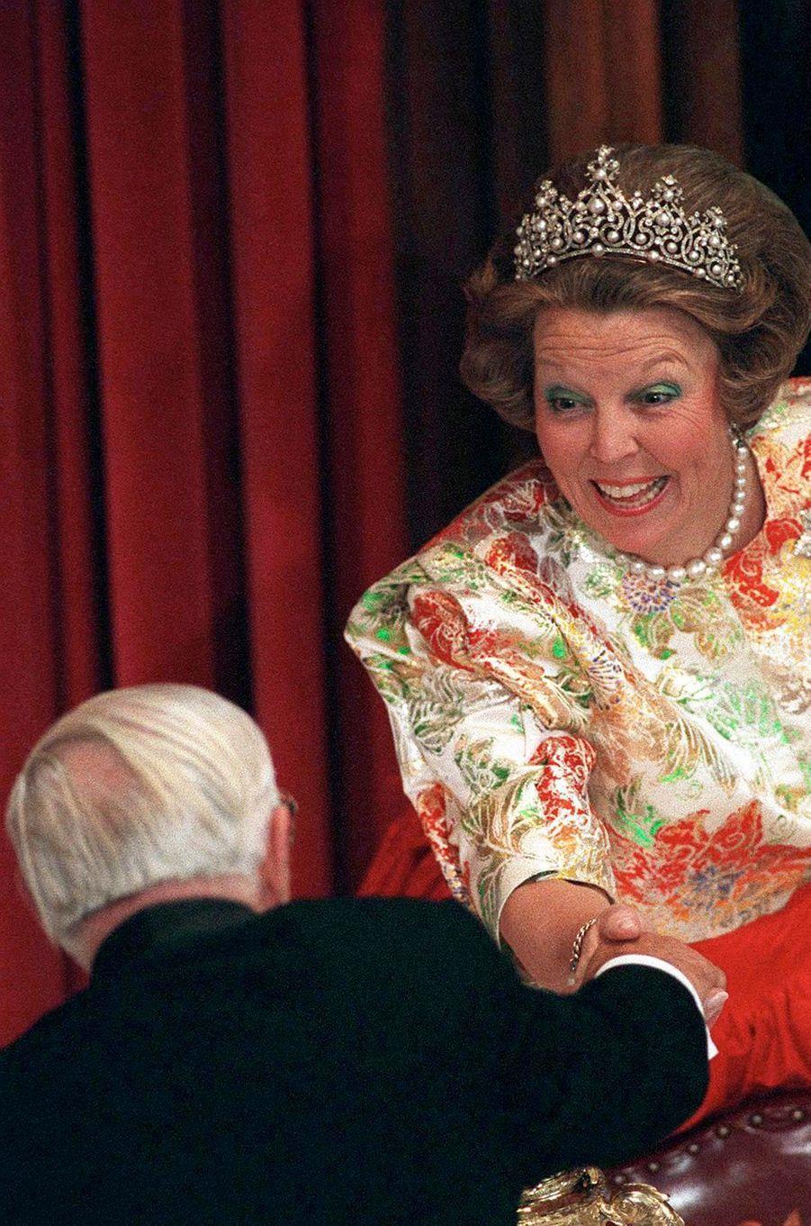 La reine Beatrix des Pays-Bas le 4 mai 1995