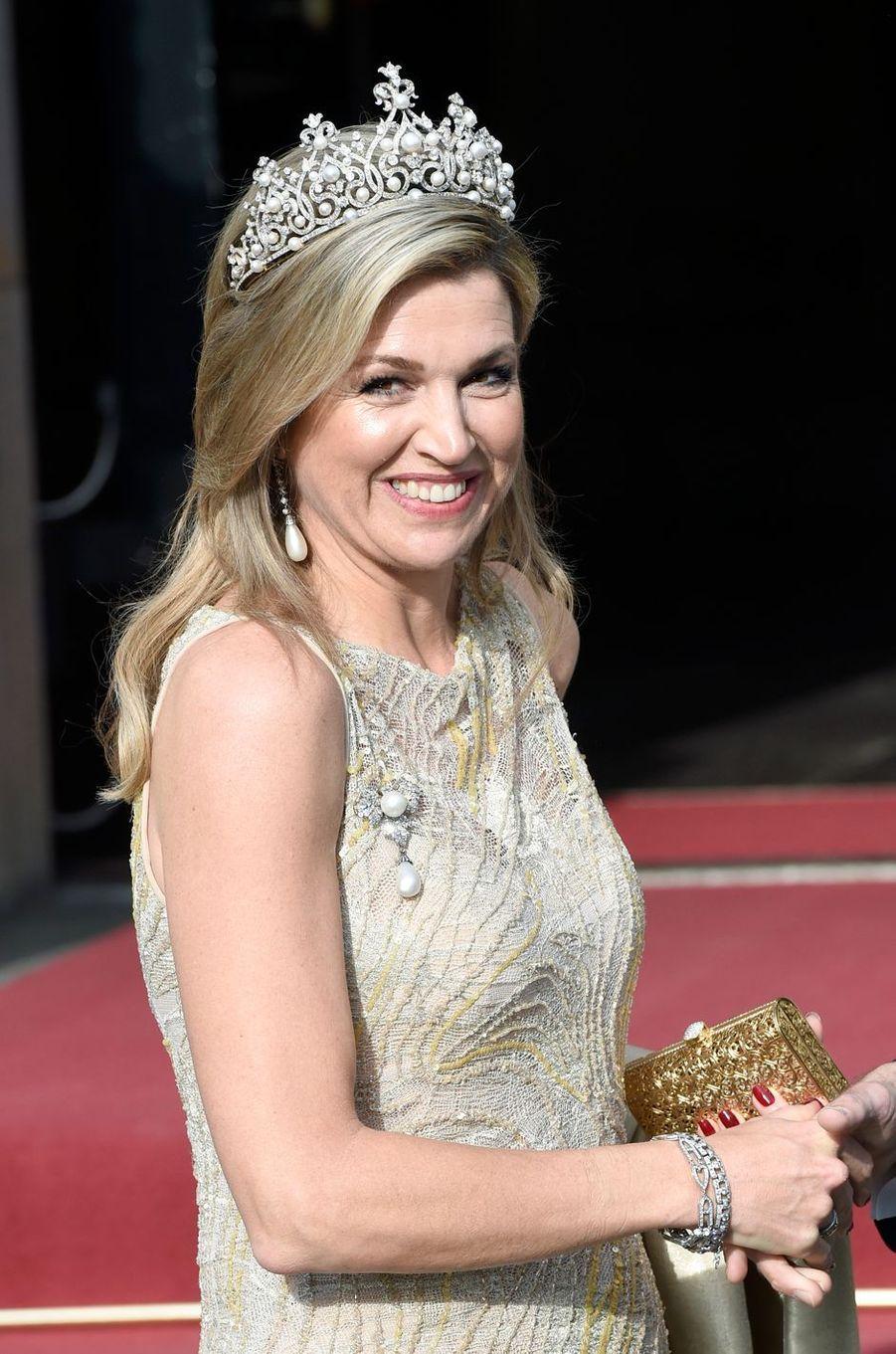 La reine Maxima des Pays-Bas le 23 mai 2017