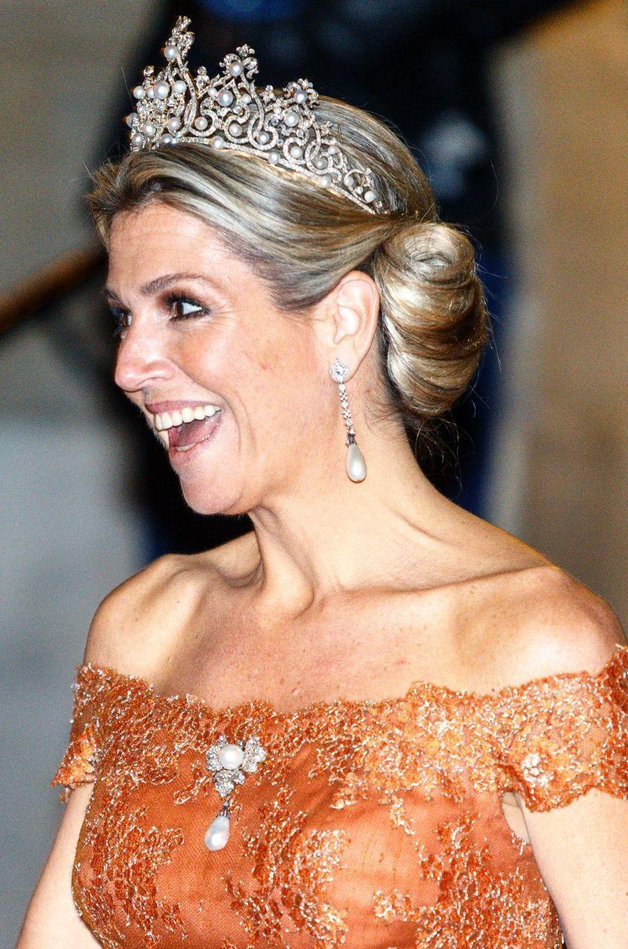 La reine Maxima des Pays-Bas le 24 juin 2015