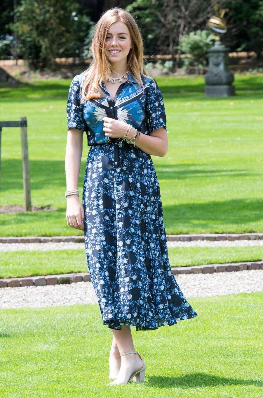 La princesse Alexia des Pays-Bas à La Haye, le 19 juillet 2019