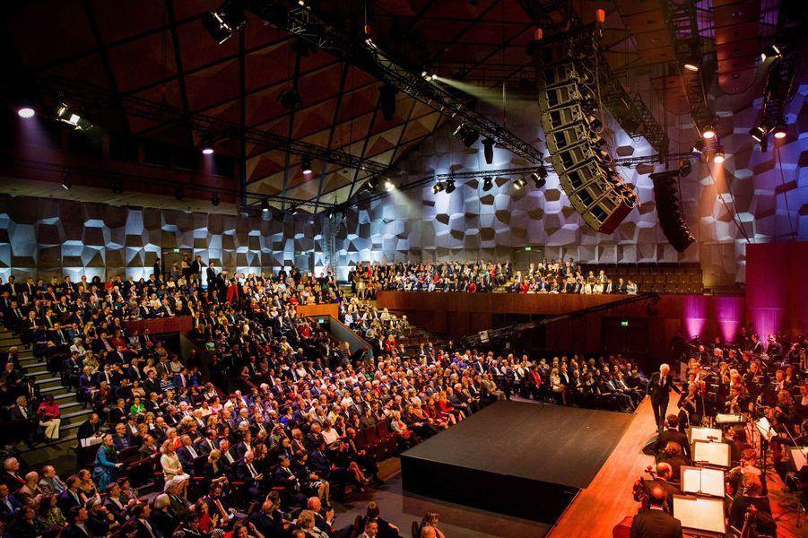 Enregistrement du concert du Jour du Roi à Groningen, le 10 avril 2018