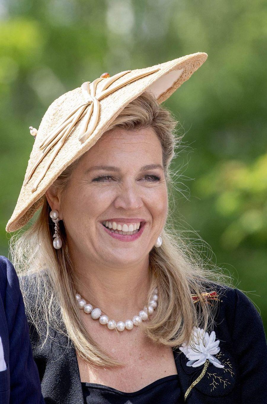 La reine Maxima des Pays-Bas en Allemagne, le 21 mai 2019