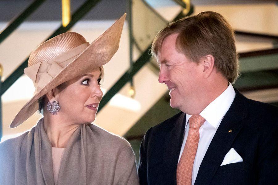 La reine Maxima des Pays-Bas en Allemagne, le 22 mai 2019