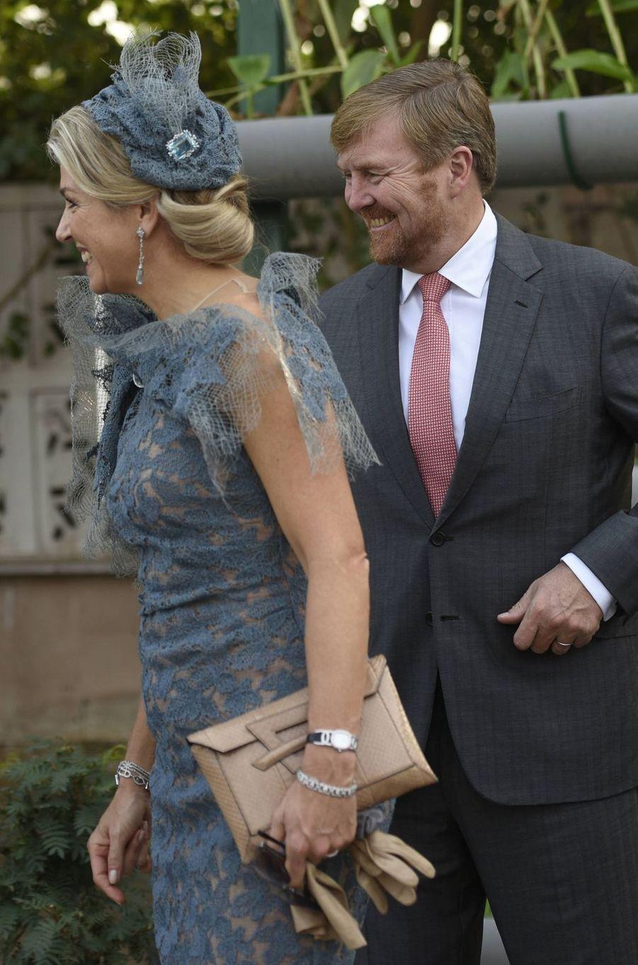 La reine Maxima des Pays-Bas, le 14 octobre 2019 en Inde