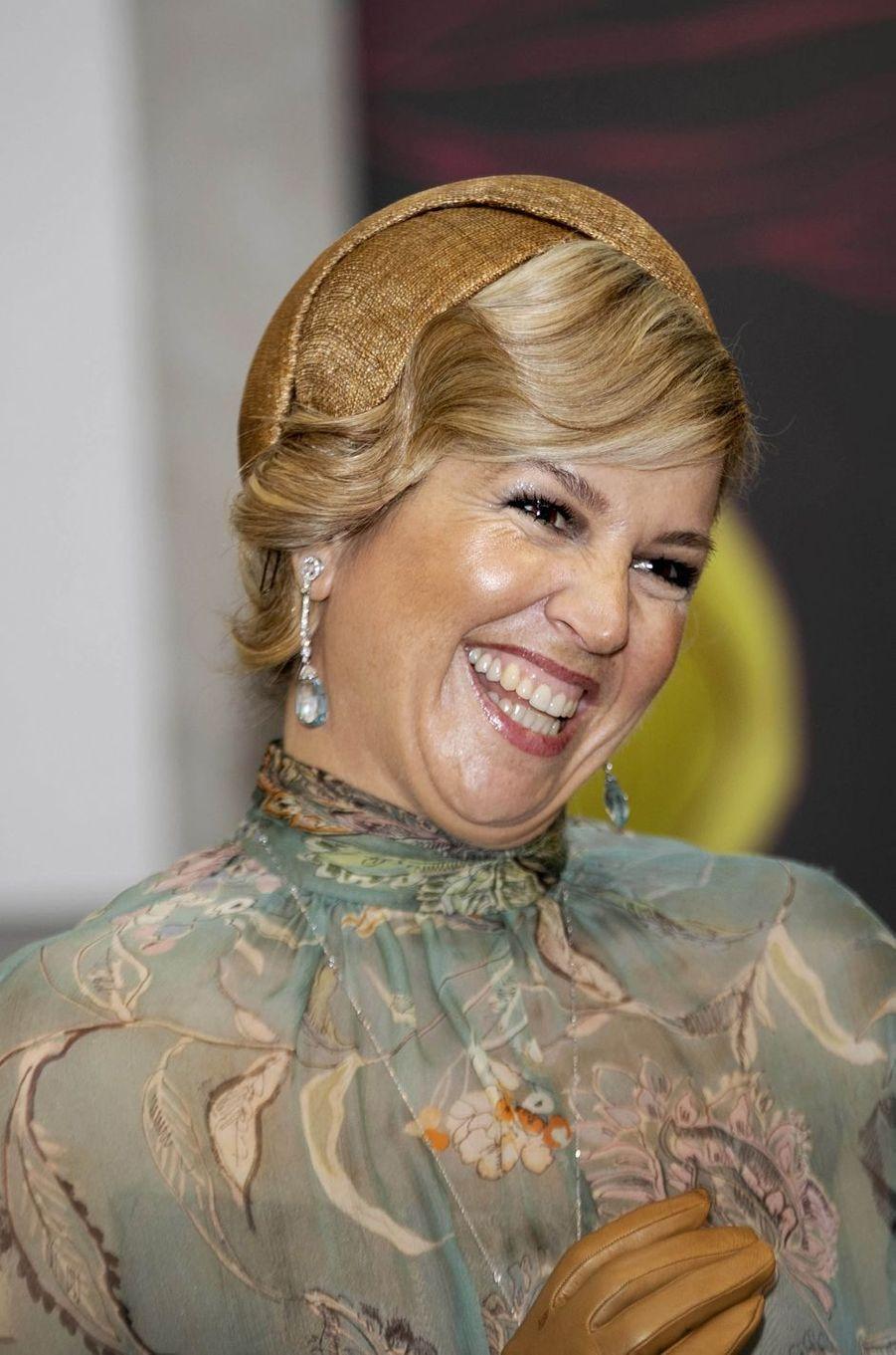 La bibi de la reine Maxima des Pays-Bas en Indonésie, le 10 mars 2020