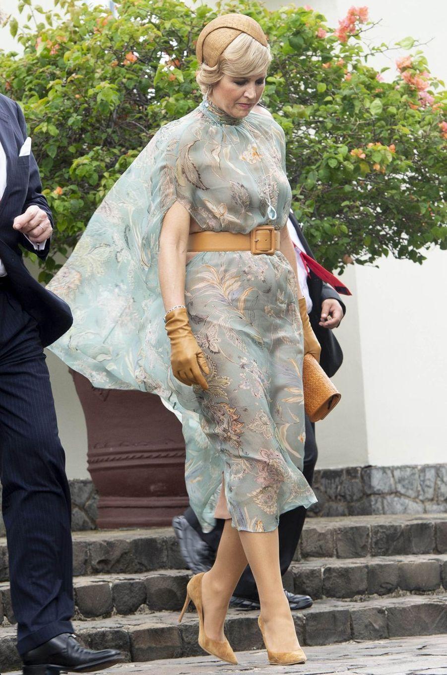 La reine Maxima des Pays-Bas en Indonésie, le 10 mars 2020