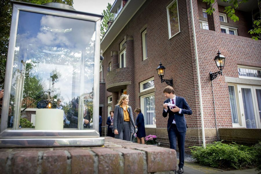 La reine Maxima des Pays-Bas à La Haye, le 2 juillet 2020