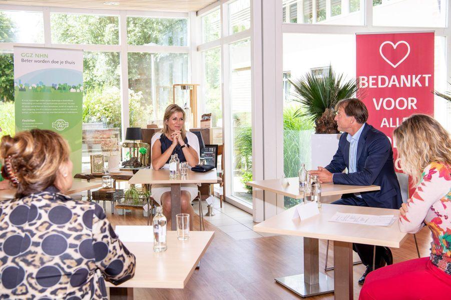 La reine Maxima des Pays-Bas à Schagen, le 2 juillet 2020