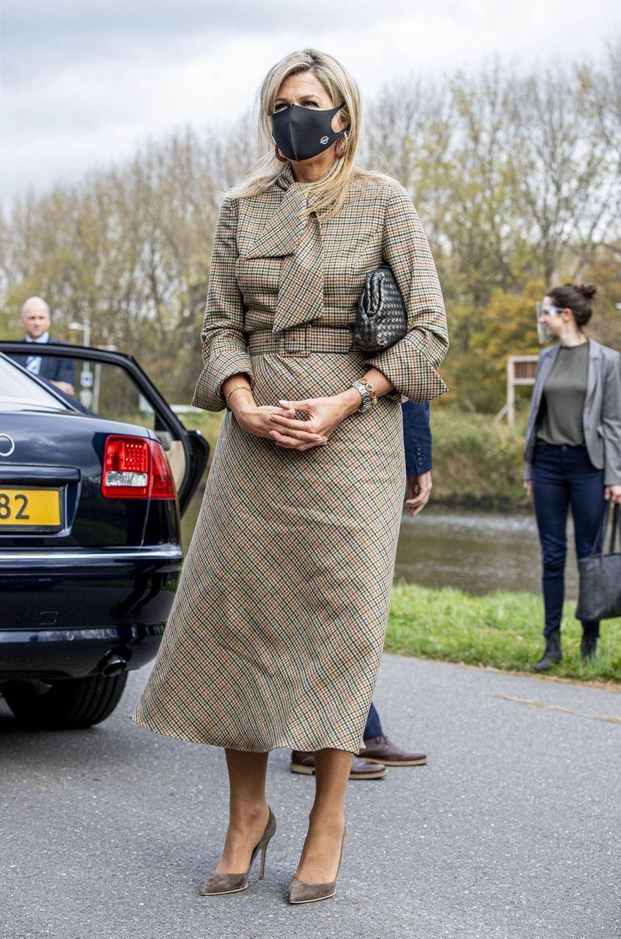 La reine Maxima des Pays-Bas à Amsterdam, le 5 novembre 2020