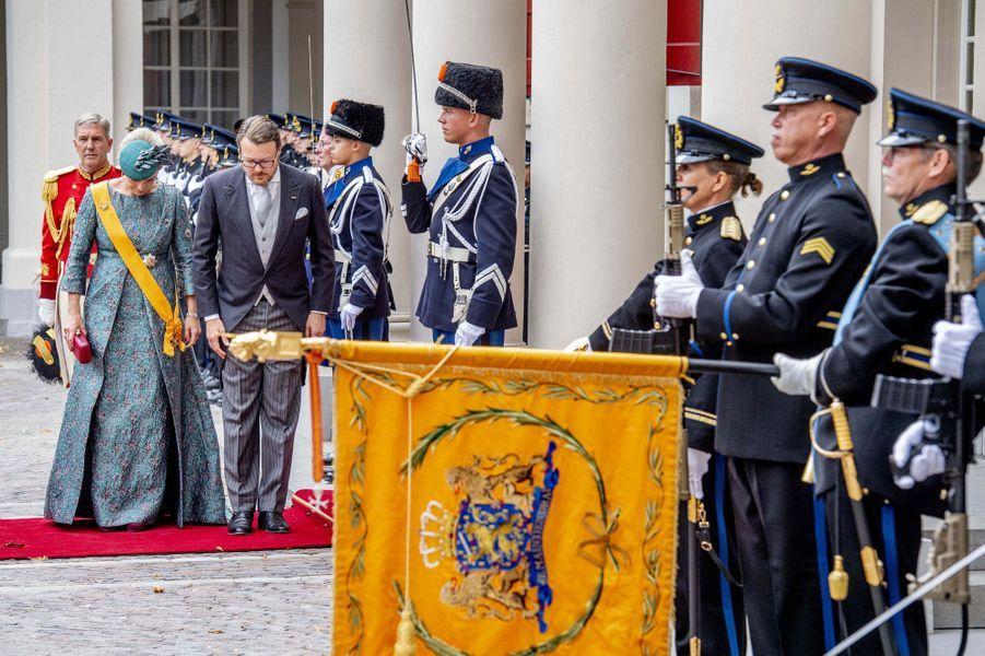 La princesse Laurentien et le prince Constantijn des Pays-Bas à La Haye, le 18 septembre 2018