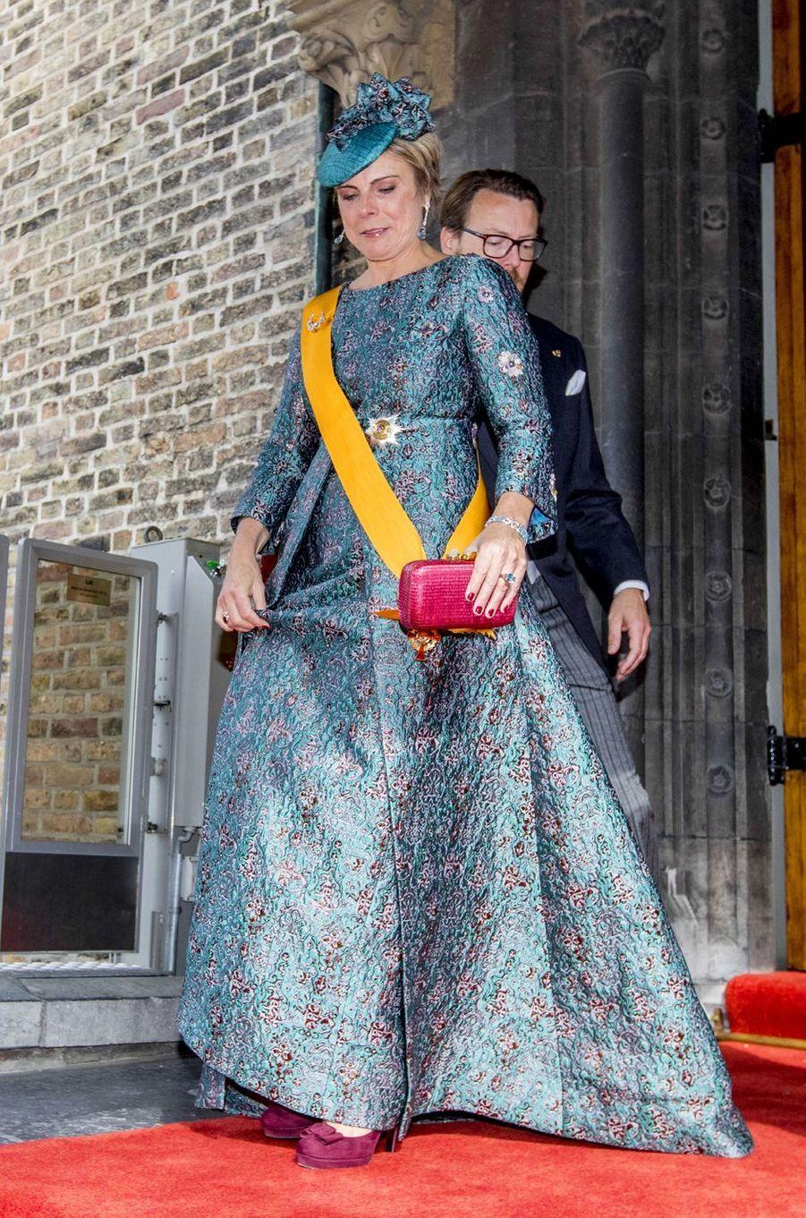 La princesse Laurentien des Pays-Bas à La Haye, le 18 septembre 2018