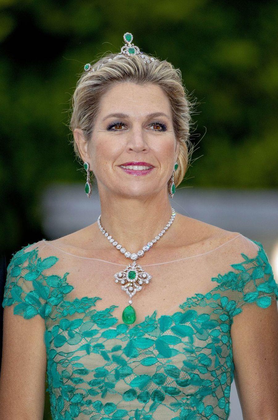 La reine Maxima des Pays-Bas à Dublin, le 12 juin 2019