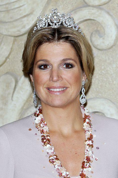 La princesse Maxima des Pays-Bas, le 10 mars 2011