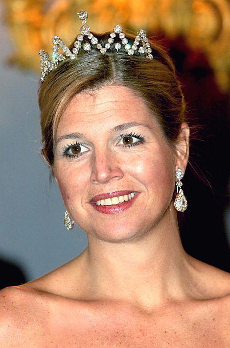 La princesse Maxima des Pays-Bas, le 18 janvier 2005
