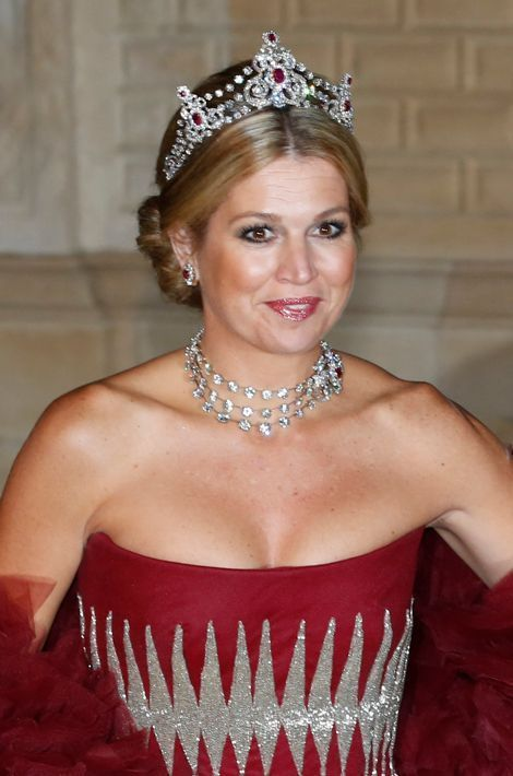 La princesse Maxima des Pays-Bas, le 19 octobre 2012