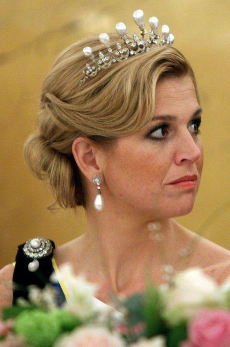 La princesse Maxima des Pays-Bas, le 21 avril 2009