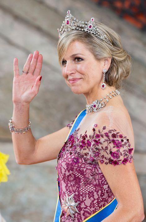 La reine Maxima des Pays-Bas, le 13 juin 2015