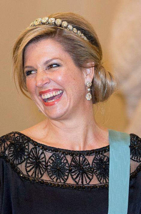 La reine Maxima des Pays-Bas, le 15 avril 2015