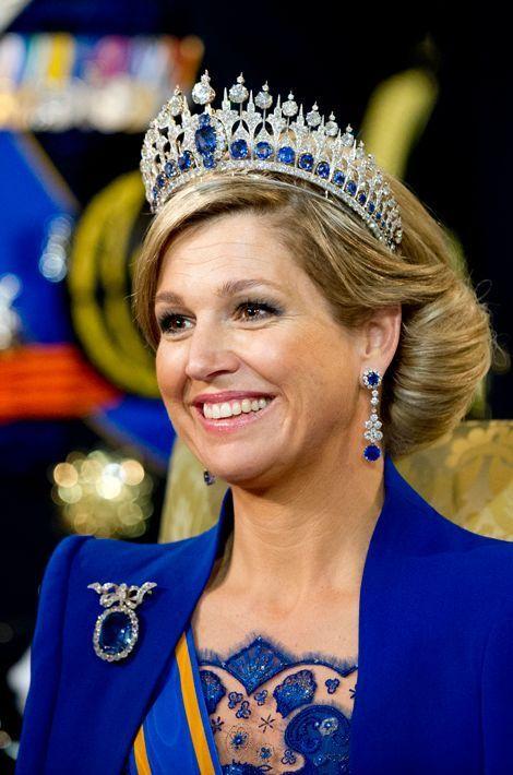 La reine Maxima des Pays-Bas, le 17 mars 2015