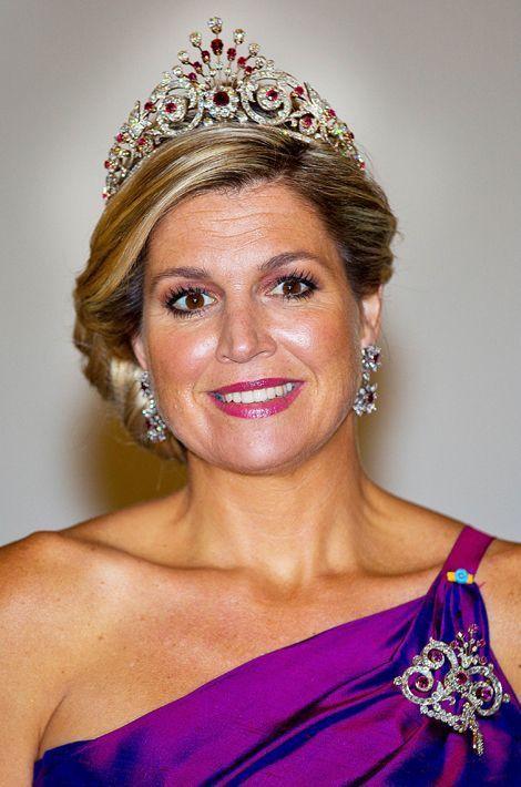 La reine Maxima des Pays-Bas, le 24 juin 2014